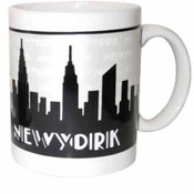 Grey Skyline 11oz Mug