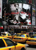 Yellow Cabs on Times Square I Photo Magnet