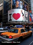 47th Street & Broadway Photo Magnet