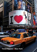47th Street & Broadway Photo Magnet