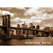 Brooklyn Bridge Photo Magnet