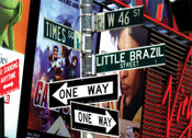 Little Brazil on Times Square Photo Magnet