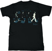 The Beatles- Abbey Road Black Adult T-Shirt