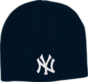 NY Yankees Navy Knit Hat