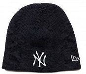 NY Yankees Navy Knit Hat for Kids