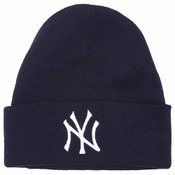 NY Yankees Navy Cuff Knit Hat
