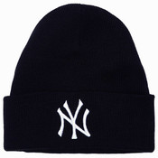 NY Yankees Black Cuff Knit Hat