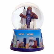 Snowglobe 45Mm Empire State Bldg./Monkey