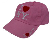I Love NY Pink Cap