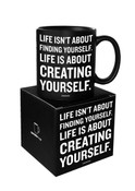 Creating Yourself Quotable Mug