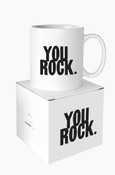 You Rock Quotable Mug
