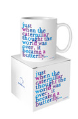 Caterpillar Quotable Mug