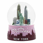 Snowglobe 65Mm Princess New York Skyline