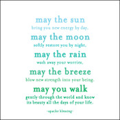 May the Sun Quotable Card