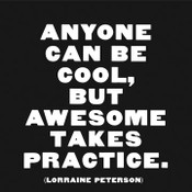 Anyone Can be Cool Quotable Card