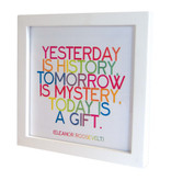 Quotable Card White 5 X 5 Frame