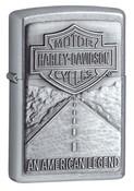 Harley Davidson Legend Street Chrome Zippo