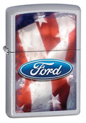 Ford Made in USA Street Chrome Zippo