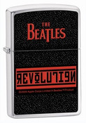 The Beatles Revolution Brushed Chrome Zippo