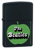 The Beatles Apple Corps Black Matte Zippo