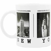 NYC Black & White Pictures 11oz Mug
