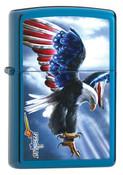 Mazzi Eagle of America Sapphire Zippo