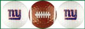 NY Giants Golf Ball Variety 3-Pack