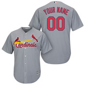 St Louis Cardinals Replica Personalized Road Jersey