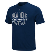 "Yankees ""Luxury Box"" Navy Mens T-shirt"