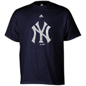 "Yankees Navy ""Distressed Logo"" Youth T-Shirt"
