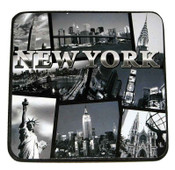NYC Postcard Collage Coasters