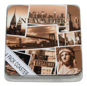 NYC Sepia Photos Coasters