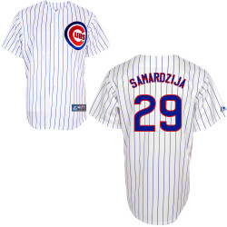 Chicago Cubs Adult Replica Jeff Samardzija Home Jersey