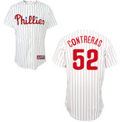 Philadelphia Phillies Adult Replica Jose Contreras Home Jersey