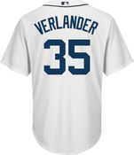 Justin Verlander Detroit Tigers Replica Adult Home Jersey