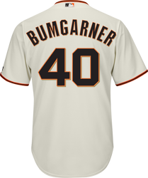 Madison Bumgarner SF Giants Replica Adult Home Jersey