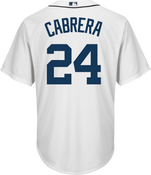 Miguel Cabrera Detroit Tigers Replica Adult Home Jersey