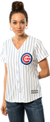Chicago Cubs Replica Ladies Home Jersey