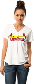St.Louis Cardinals Replica Ladies Home Jersey