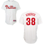Philadelphia Phillies Youth Replica Kyle Kendrick Home Jersey