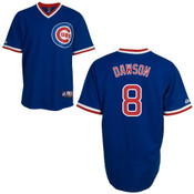Andre Dawson Jersey - Chicago Cubs Cooperstown Throwback Jersey