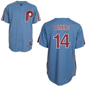 Jim Bunning Jersey - Philadelphia Phillies Cooperstown Throwback Jersey