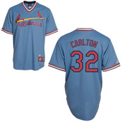 Steve Carlton Jersey - St. Louis Cardinals Cooperstown Throwback Jersey