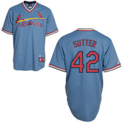 Bruce Sutter Jersey - St. Louis Cardinals Cooperstown Throwback Jersey