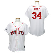David Ortiz  Boston Red Sox Ladies Replica Jersey