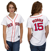 Dustin Pedroia  Boston Red Sox Ladies Replica Jersey
