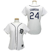 Miguel Cabrera  Detroit Tigers Ladies Replica Jersey