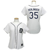 Justin Verlander  Detroit Tigers Ladies Replica Jersey