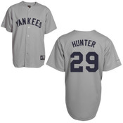 Catfish Hunter Jersey - NY Yankees 1927 Cooperstown Replica Throwback Jersey