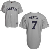 Mickey Mantle Jersey - NY Yankees 1927 Cooperstown Replica Throwback Jersey